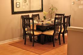 dining table dining table decor dark parson dining chairs with