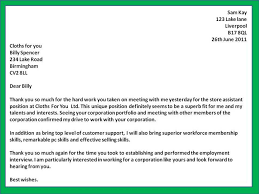Thank You Letter Sles After thank you follow up letter city espora co