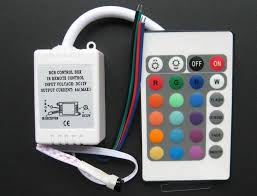 smd led strip rgb controller ir remote lampa tronics