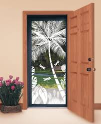 doors with glass windows design your own tropical etched glass windows and doors