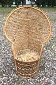 Cane Peacock Chair For Sale Brilliant High Back Wicker Chair With Best Images About Flea