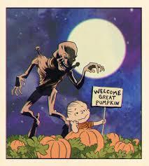 it u0027s the great pumpkinhead charlie brown