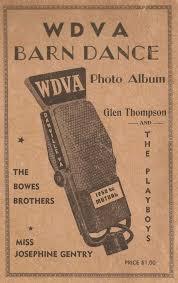 Barn Dance Names Wdvabarndance1949 Wdva Barn Dance Danville Virginia