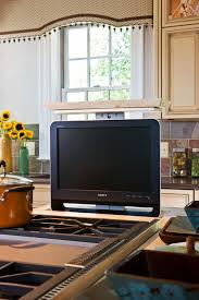 kitchen television ideas best 25 tv in kitchen ideas on traditional microwave