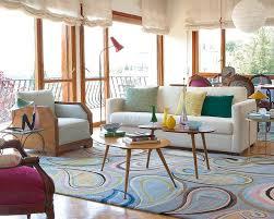 Best Salas Coloridas Images On Pinterest Living Room Ideas - Vintage style interior design ideas