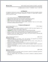 General Warehouse Resume Sample by Supermarket Cashier Resume Resume Sample Pinterest