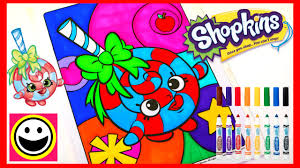 shopkins coloring pages videos shopkins coloring pages lolli poppins crayola coloring book