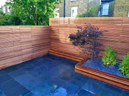 Cool Ideas For Backyard Patio Terrific Natural Fence For Backyard Pond Cool Ideas