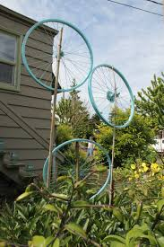 hubcap garden edging beth evans ramos blog