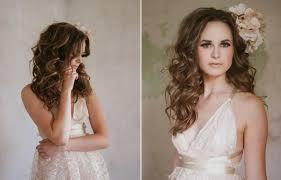 coiffure mariage cheveux lach s coiffure mariage cheveux longs et mi longs en 62 idées