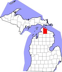 Map Of Michigan by File Map Of Michigan Highlighting Cheboygan County Svg Wikimedia