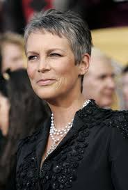 doing low lights on gray hair 10 celebs who rock gray hair gray hair short hair and shorter