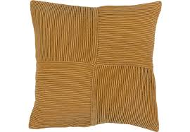 conrade gold accent pillow accent pillows yellow