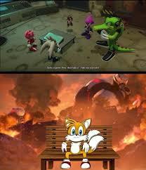 Tails Bench Meme