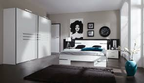 chambre à coucher blanc et noir moderne chambre à coucher complète archzine fr