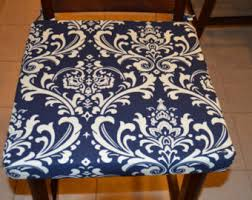 Fabric For Dining Chair Seats Dining Chair Cushion Etsy