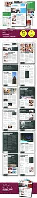 templates for newsletters business newsletter template by diydesigns graphicriver