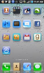 make android look like iphone how to make your android look exactly like an iphone cnet
