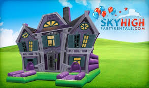 bounce house rentals houston haunted houses for rent or sale delivered sky high party rentals