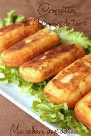 viande facile à cuisiner croquette de pomme de terre facile recettes légumes féculents
