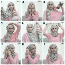 tutorial hijab turban untuk santai hijab tutorial probably my everyday signature style tutorial