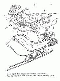 free coloring pages of christmas night before christmas coloring pages free coloring pages for the