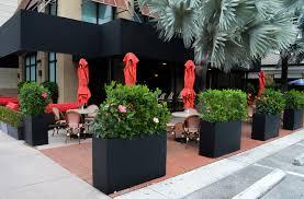Restaurant Patio Planters by Home Plantersetc
