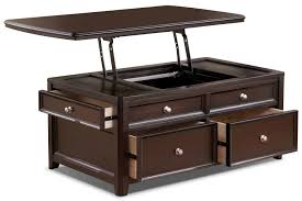 table nikka blackwhite lacquer lift top coffee table lift top