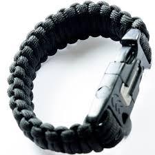 black survival bracelet images Best black 550 paracord bracelet for survival camping under jpg