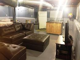 crafty design unfinished basement ideas on a budget basement