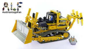 lego technic lego technic 8275 motorized bulldozer lego speed build review