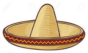 cartoon sombrero mexican hat clipart clipground
