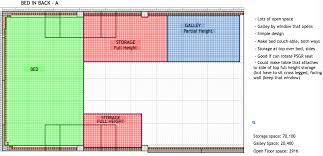 Rv Camper Floor Plans This Is Probably The Most Common Van Layout Among Do It Yourself