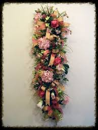 door wreaths floral door swags hangers front