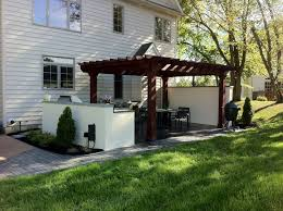 Houzz Backyard Patio by Spectacular Houzz Outdoor Kitchens Designs With Portable Big Green