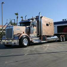 w900l semitrckn u2014 kenworth custom w900l with matchin van 18 wheels u0026 a