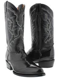 real leather biker boots real genuine eel skin snake cowboy boots western rodeo dress best