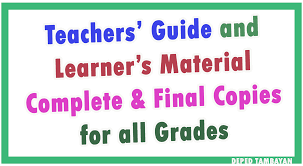 set of teacher u0027s guide u0026 learner u0027s material for all grades new