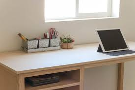 counter height desk with storage counter height desk with storage buildsomething com