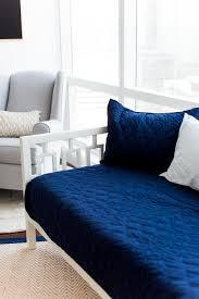 Rocking Bed Frame by Our Palm Zen Nursery Reveal U2014 Alissandra B