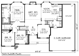3 bedroom home floor plans 3d small house floor plans 3 bedroomhouse plans exles house