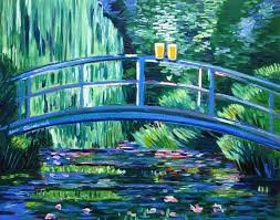 Claude Monet Blind I Recreate Famous Paintings And Add Beer Bored Panda