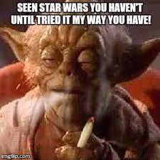 Yoda Meme Maker - yoda stoned imgflip