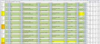 Excel Spreadsheet Course 125 Days The Next 18 Weeks Tri Ing For A Challenge