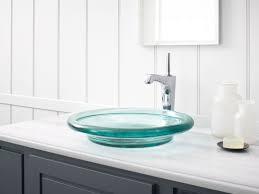 Kohler Overmount Bathroom Sinks by Standard Plumbing Supply Product Kohler Spun Glass K 2276 Tg3