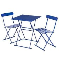 Blue Bistro Chairs Bistro Chairs And Tables For The Garden The Gardener S