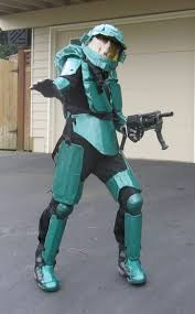 Metal Gear Halloween Costume Halo 3 Master Chief Halloween Costume 10 Steps Pictures