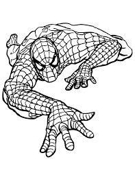 marvel coloring pages amazing spider man coloringstar
