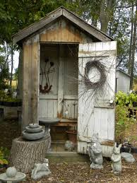 outhouse but it u0027s cute i could totally do this with my old