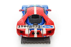 lego ford ranger lego ford gt race car goes on display in le mans